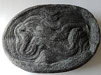 Фетр стальной для удаления воска пастообразного с полированной поверхности гранита, камня. Без царапин.1 метр