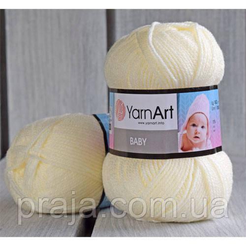 YarnArt Baby  -  502 молочный
