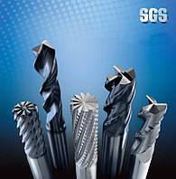 Фреза твердосплавная 10.0 ENDMILL 4FL SQ TC (SGS)