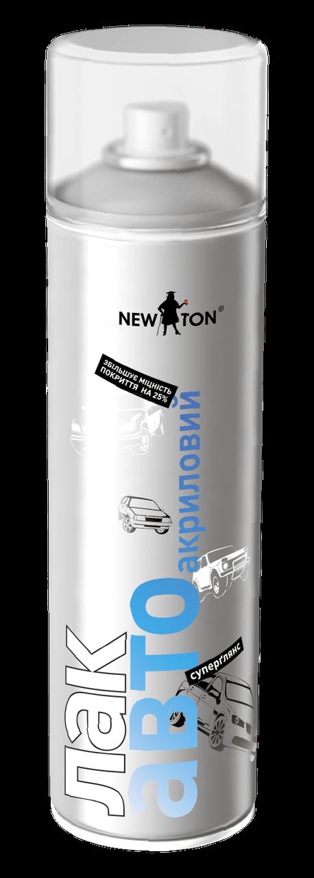 Автомобильный акриловый лак в аэрозоле NewTon 500г