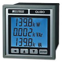 Анализатор сети перем. тока / качество энергии / трехфазовый / на DIN-рейке QUBO H - FRER-QUBO-H