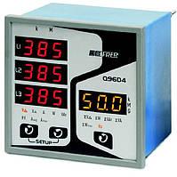 Анализатор электрической сети перем. тока / трехфазовый / для монтажа на панели Q96D4 - FRER-Q96D4