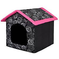 Домик для кошки или собаки  38х38х32см HobbyDog , фото 1
