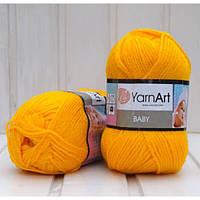 YarnArt Baby -  586 желтый