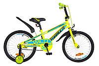 """Детский велосипед 18"""" Formula WILD 2018 (салатно-синий)"""