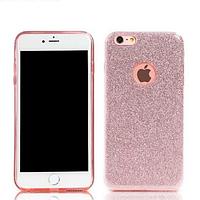 Силиконовый чехол Glitter iPhone 6/6s розовый REMAX 603403