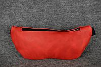 Поясная сумка бананка |11704| Красный
