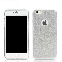 Силиконовый чехол Glitter iPhone 6/6s серебро REMAX 603402