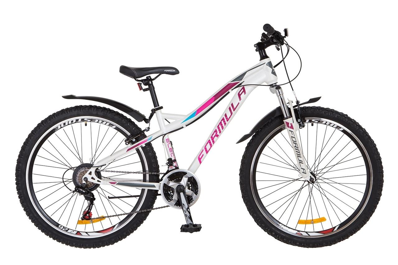 """Горный велосипед 26"""" Formula ELECTRA 2018 (бело-фиолетовый (м))"""