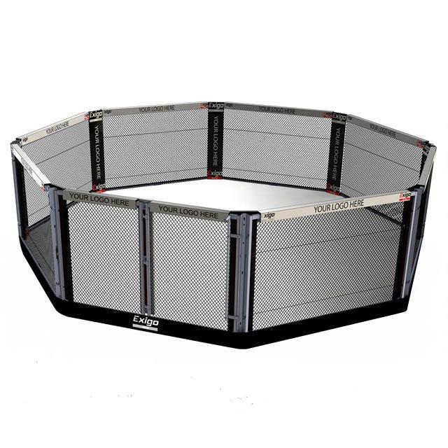Ринг восьмикутник для ММА підлоговий 5 х 5 м