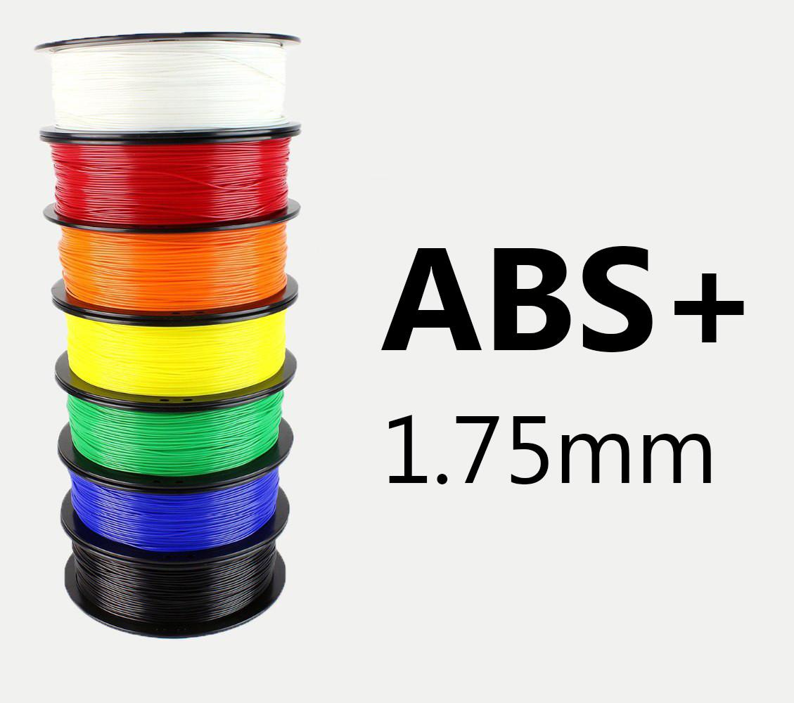 "ABS+ Пластик ""MonoFilament"" 1,75mm Все цвета"