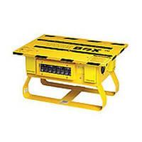 Оборудованный распределительный шкаф / из металла / переносной / для строительства -