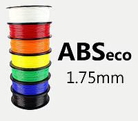 "ABS eco Пластик ""MonoFilament"" 1,75mm Все цвета 0.7кг"