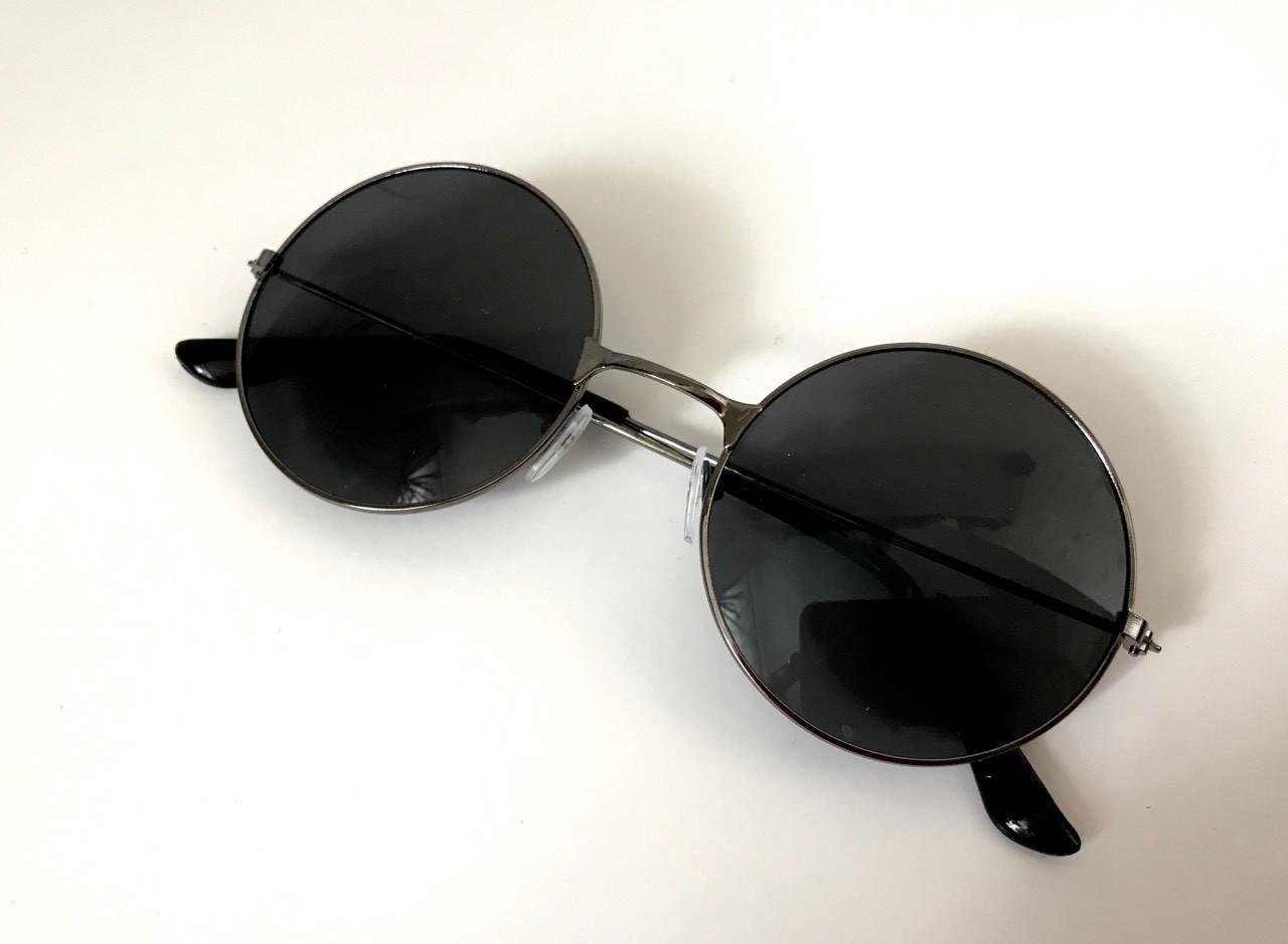 Очки солнцезащитные круглые линзы