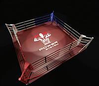 Ринг для боксу підлоговий PowerSystem 5 х 5 м