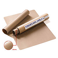 Тефлоновый коврик для выпечки 220 мкм, 400х600 мм