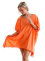 Пляжная женская туника кимоно, фото 1