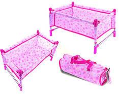 Кроватка металл CS7860 для куклы