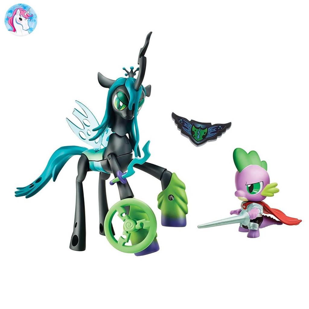 Игровой набор My Little Pony Королева Кризалис и дракончик Спайк серии Стражи гармонии Guardians of Harmony