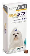 Бравекто (Bravecto) Жевательная таблетка для защиты от блох и клещей для собак весом 2-4,5 кг
