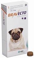 Бравекто (Bravecto) Жевательная таблетка для защиты от блох и клещей для собак весом 4,5-10 кг