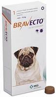 Бравекто Жевательная таблетка для защиты от блох и клещей для собак весом 4,5-10 кг