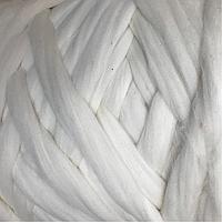 Гребенная лента мериносовая  шерсть тонкая