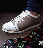 Спортивные туфли беж, фото 1