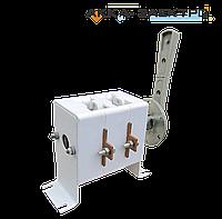 Рубильник перекидной ВР32 100А 220В