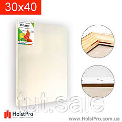 Холст на модульном подрамнике, для живописи и рисования, 30 х 40 см