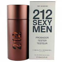TESTER мужской Carolina Herrera 212 Sexy Men