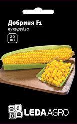 """Семена кукурузы сахарной Добрыня F1, 20 сем., ТМ """"ЛедаАгро"""""""