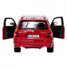 Автомодель - MERCEDES BENZ GLK-CLASS (ассорти красный, серебристый, 1:32) 18-43016, фото 2
