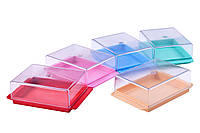 Пластиковая посуда для хранения сливочного масла 138x87,5x47 мм МЕД пластик