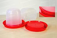 Пластиковая поилка для птиц круглая Ø280 мм Магия-Пласт DS DS 770117