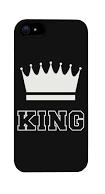 Чехол накладка на iPhone 5/5s/se король, пластик