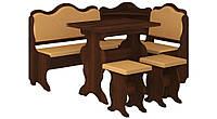 Кухонный уголок Корнет с простым, раскладным столом, без стола и табуретов