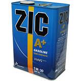 Моторное масло Zic A+ 5W-30 (Канистра 1литр) для бензиновых двигателей, фото 2