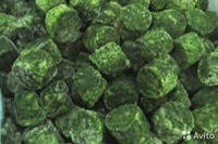 Шпинат листовой порционный замороженный 2,5 кг