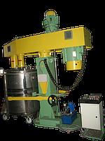 Диссольвер двухвальный с гидроподъёмником, фото 1