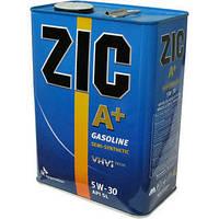 Моторное масло Zic A+ 5W-30 (Канистра 4литра) бензиновое