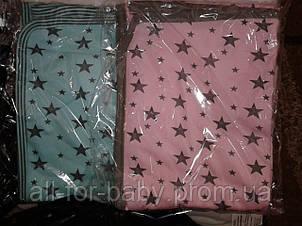 Летний конверт-одеяло на выписку Звездочка