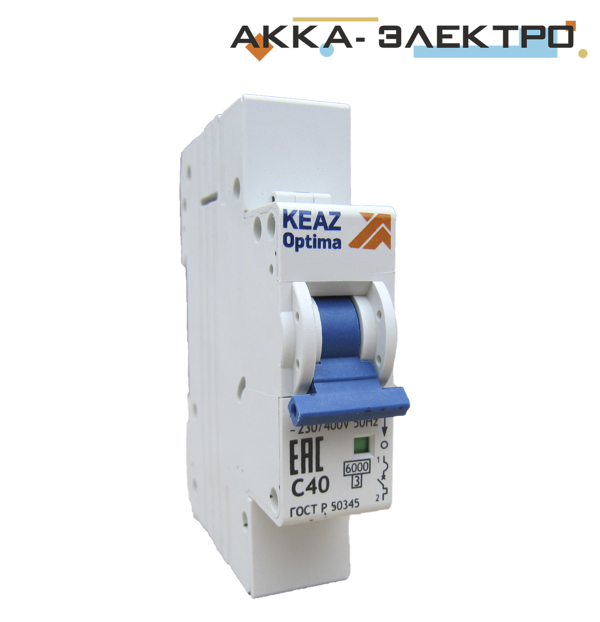 Выключатель автоматический BM-63 1п/6А KEAZ optima