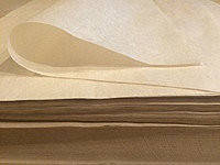 Подпергамент бумага упаковочная плотностью 45г/м2, размер 420мм*300мм  , фото 1