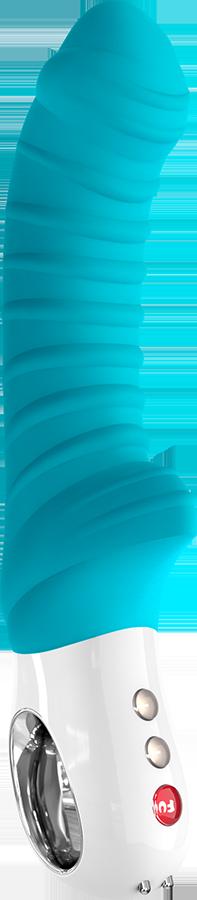 Большой Вибратор TIGER G5 Fun Factory® Голубой