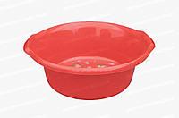 Пластиковый круглый таз для продуктов питания 16 л Горизонт