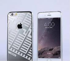 Пластиковый чехол Maze Series iPhone 6 серебро REMAX 600402