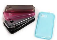 Чехол-накладка на телефон Samsung Galaxy Young 2 G130e розовый