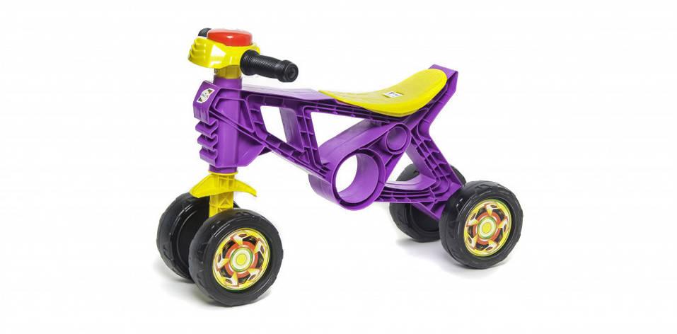 Мотоцикл Беговел 2 Орион 188F Фиолетовый, фото 2