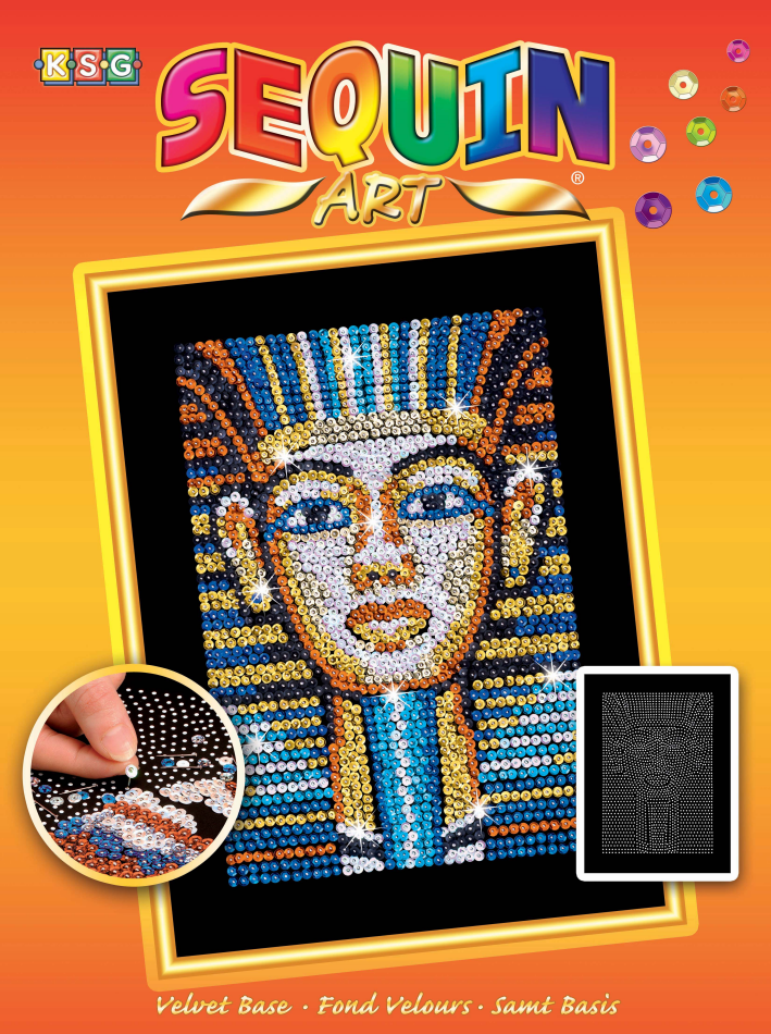 Набор для творчества Sequin Art ORANGE Tutankhamun New SA1606